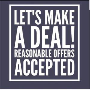 Reasonable offers